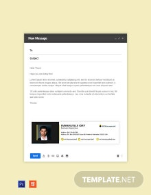 Business Responsive Email Signature Template