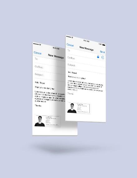 Sample Digital Marketing Email Signature