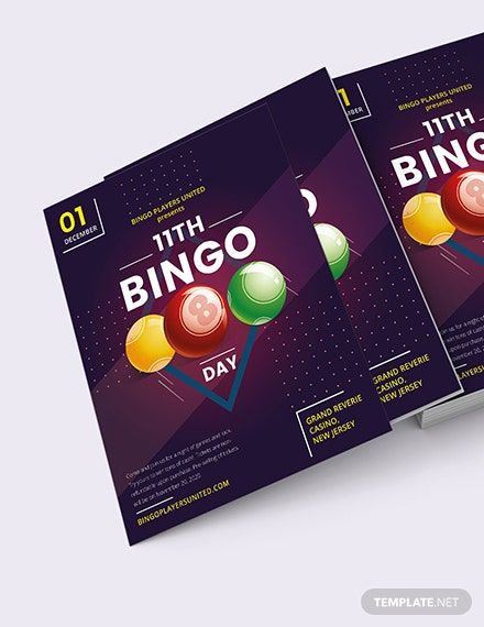 Bingo Event Flyer Download