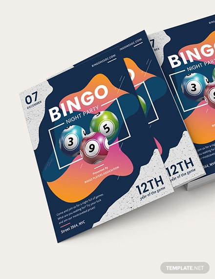 Bingo Night Flyer Download