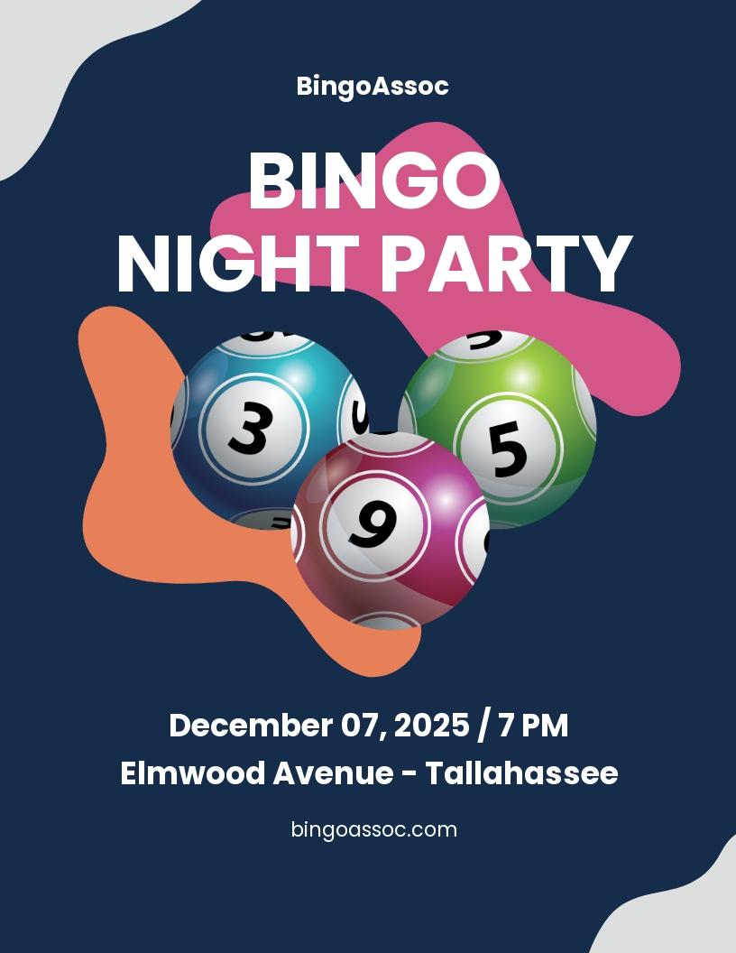 Bingo Night Flyer Template.jpe