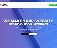 SEO Website Template