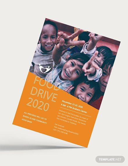 Charity Fundraising Flyer Download