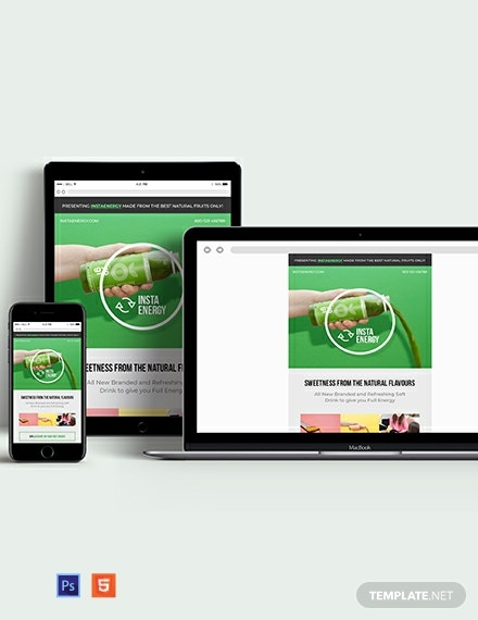 Product Launch Email Ad Template