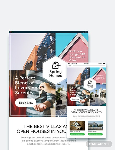 Sample Real Estate Email Ad