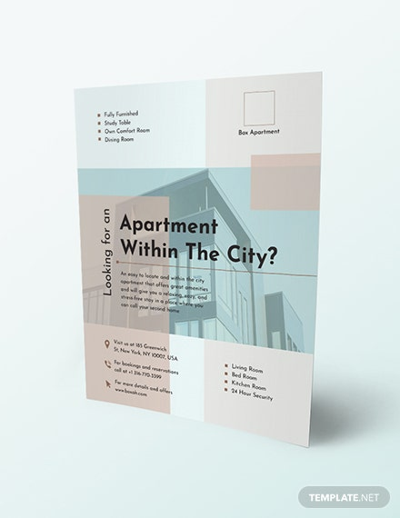 Apartment Flyer Download
