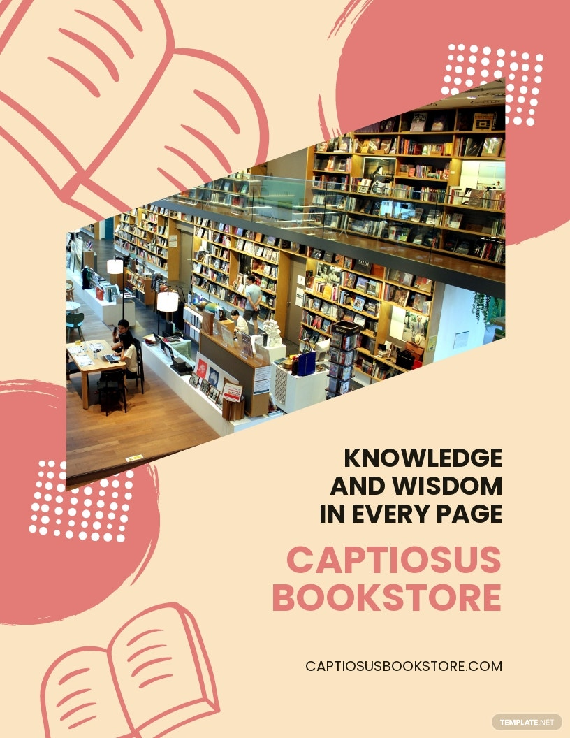 Book Store Flyer Template.jpe