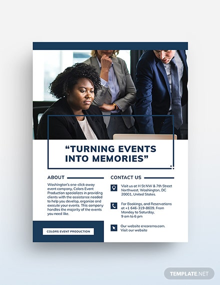 Business Event Flyer Template