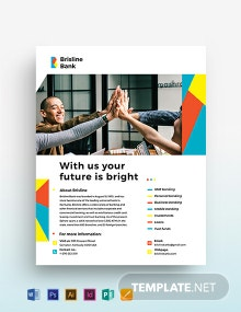 Business Banking Flyer Template