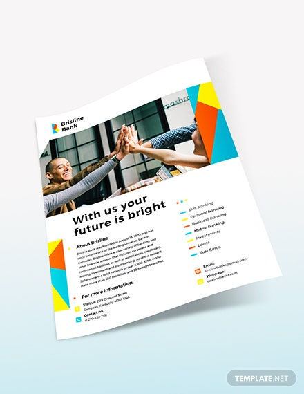 Sample Business Banking Flyer