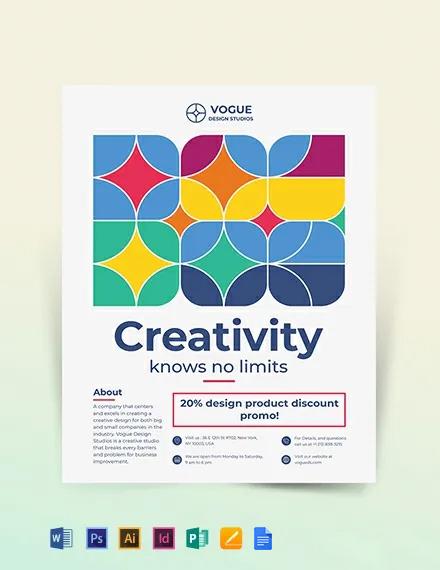 Design Studio Flyer Template