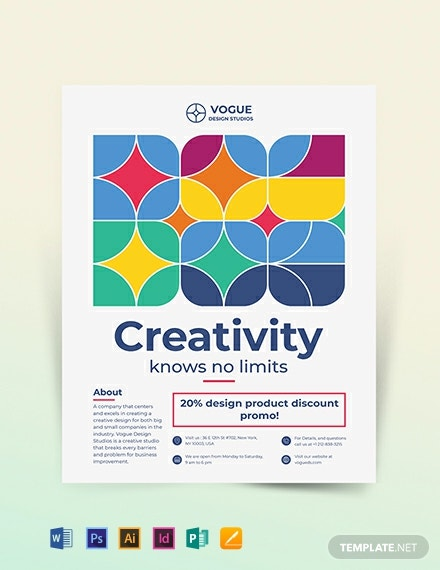 Design Studio Flyer Template