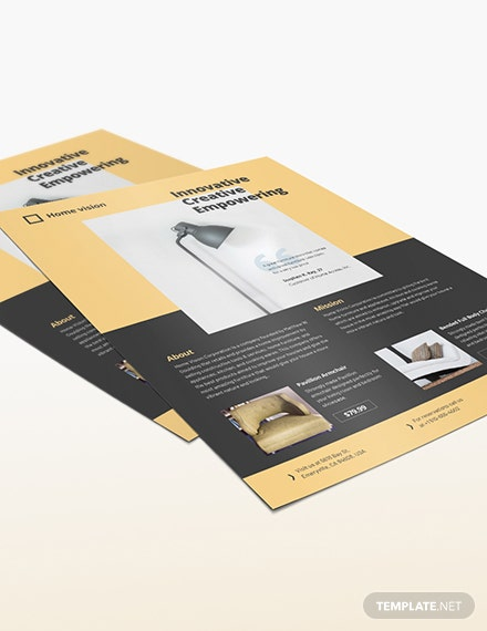 Furniture Company Flyer Download