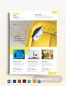 Furniture Store Flyer Template