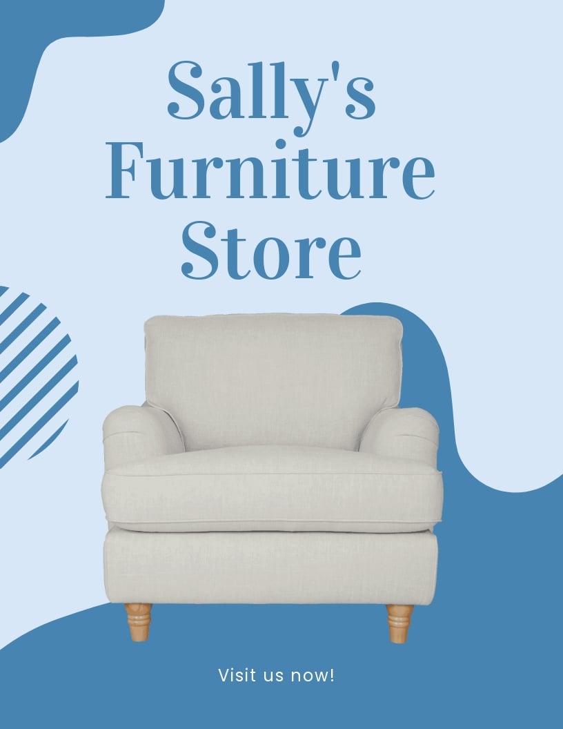 Furniture Store Flyer Template.jpe