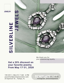 Jewelry Boutique Flyer