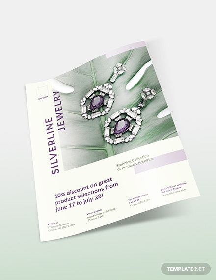 Sample Jewelry Boutique Flyer