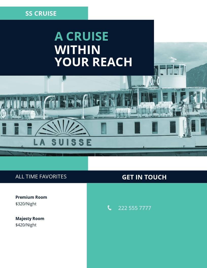Cruise Ship Flyer Template.jpe