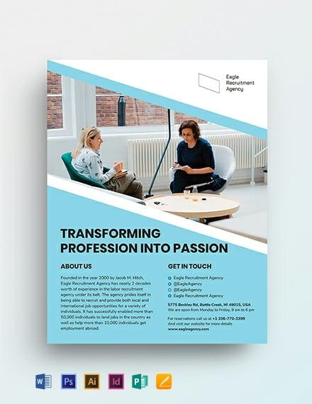 Recruitment Agency Flyer Template