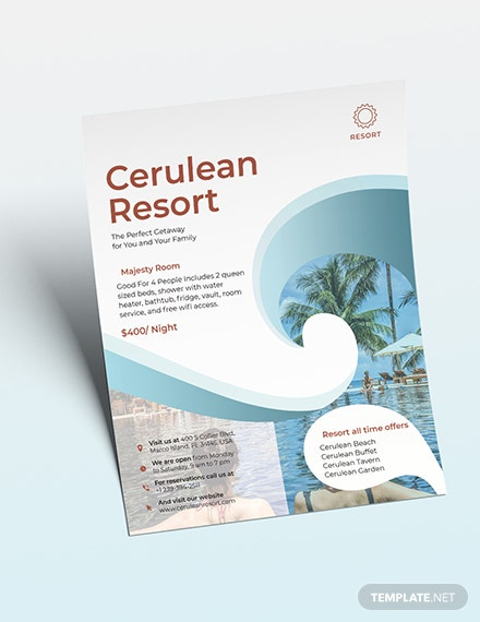 Resort Flyer Download