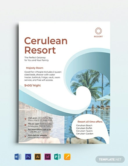 Resort Flyer Template
