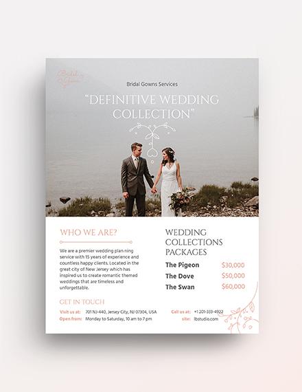 Wedding Planner Service Flyer Template