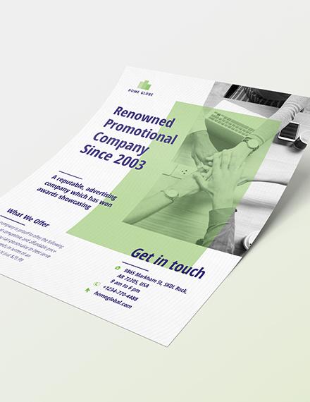 Promotional Flyer Sample