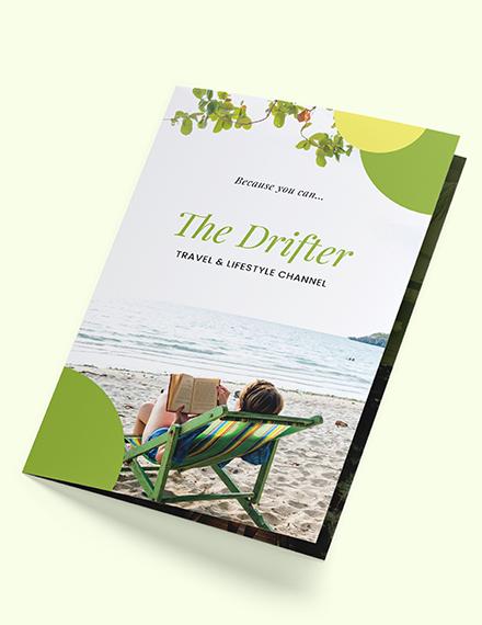 Bifold Travel Brochure Download