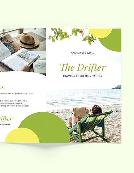 Sample Bifold Travel Brochure