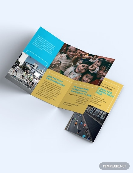 Charity Event Brochure Template