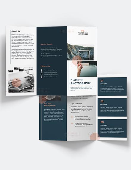Creative Photography Brochure Download