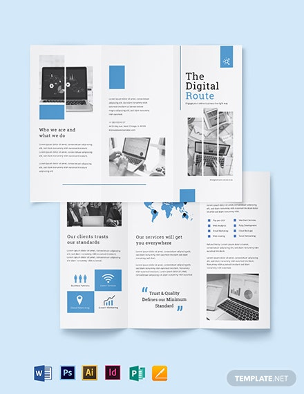 Digital Marketing Services Brochure Template