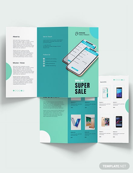 Mobile Product Sale Brochure Download