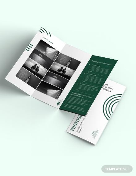Modern Photography Brochure Template