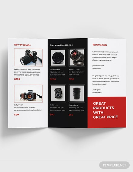 Sample Product Sales Brochure