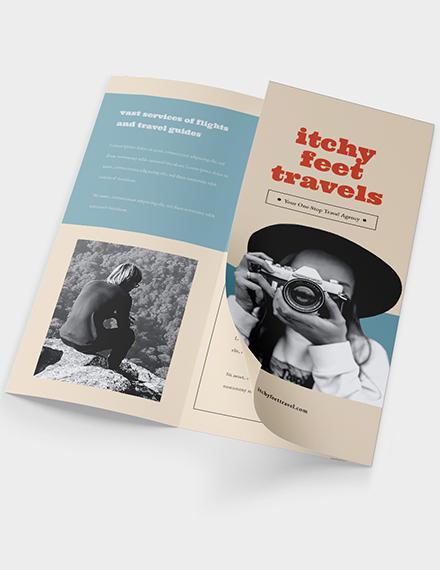 Sample Vintage Travel Brochure