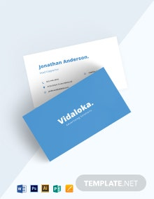 DIY Business Card Template