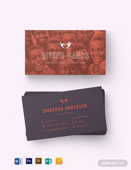Nonprofit Business Card Template