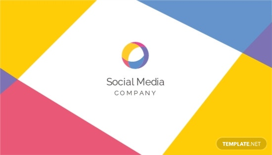 Social Media Business Card Template.jpe