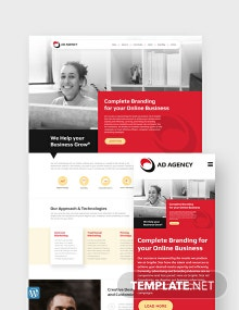 Advertising Consultant WordPress Theme/Template