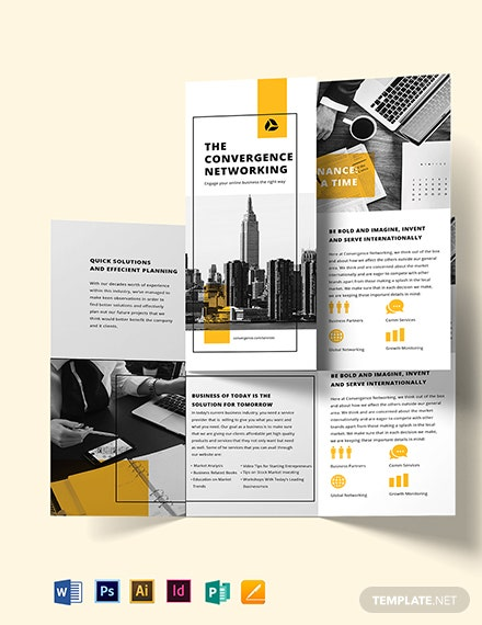 Business Marketing Brochure Template
