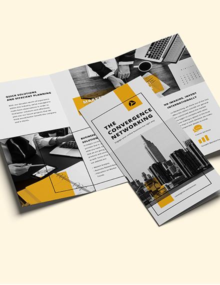 Sample Business Marketing Brochure