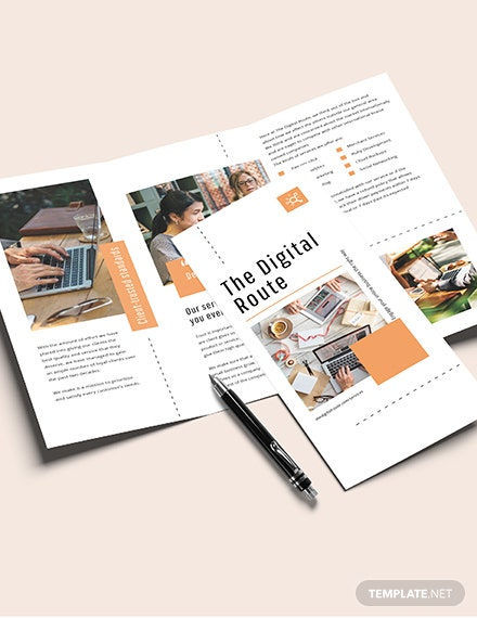 Sample Digital Marketing Brochure