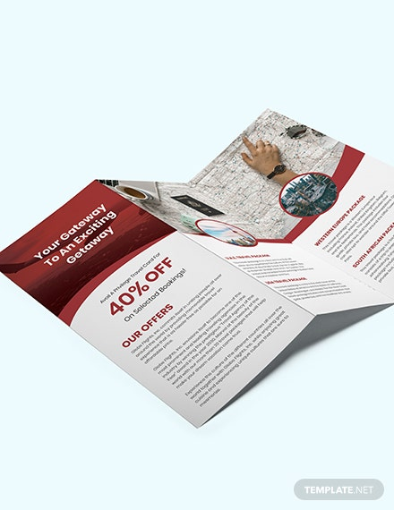 Travel Trifold Brochure Download