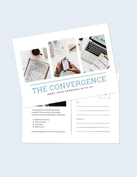 Marketing Postcard Download