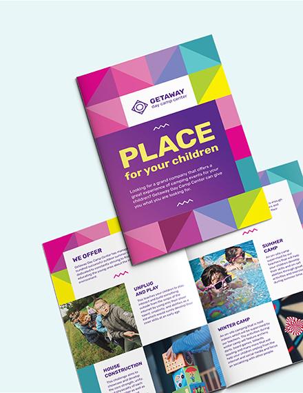 Sample Camp BiFold Brochure