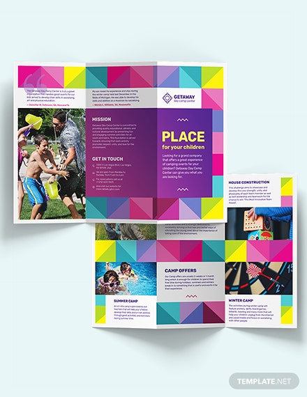 Camp TriFold Brochure Download