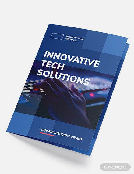 Computer Service BiFold Brochure Download