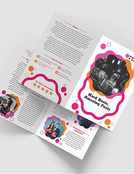 Party BiFold Brochure Download