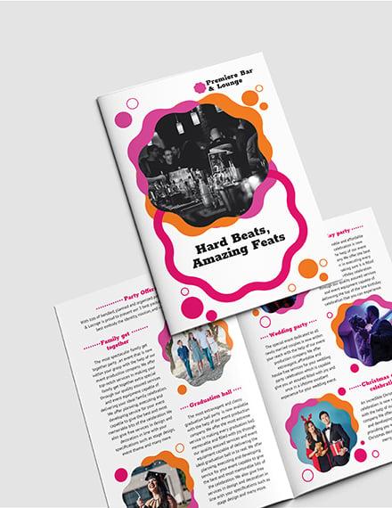 Sample Party BiFold Brochure